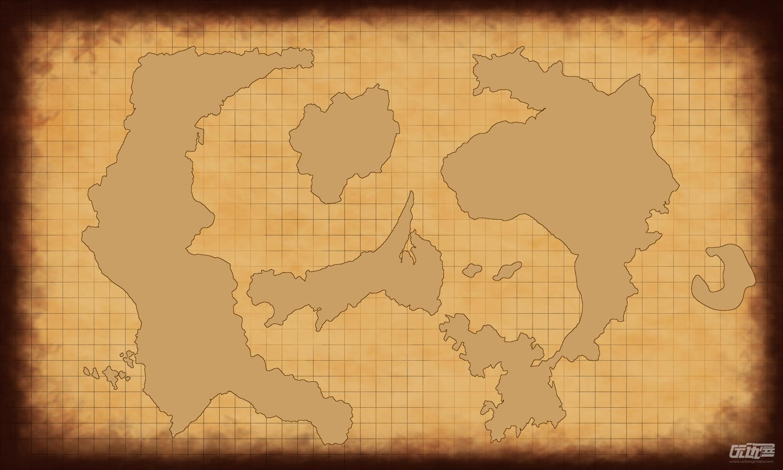 古风地图素材