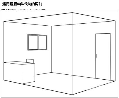 室内透视图的画法