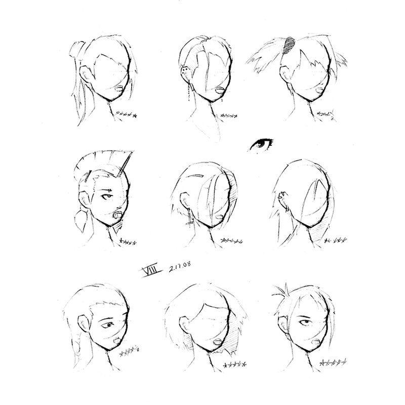 圆形脸发型 圆形脸女生发型
