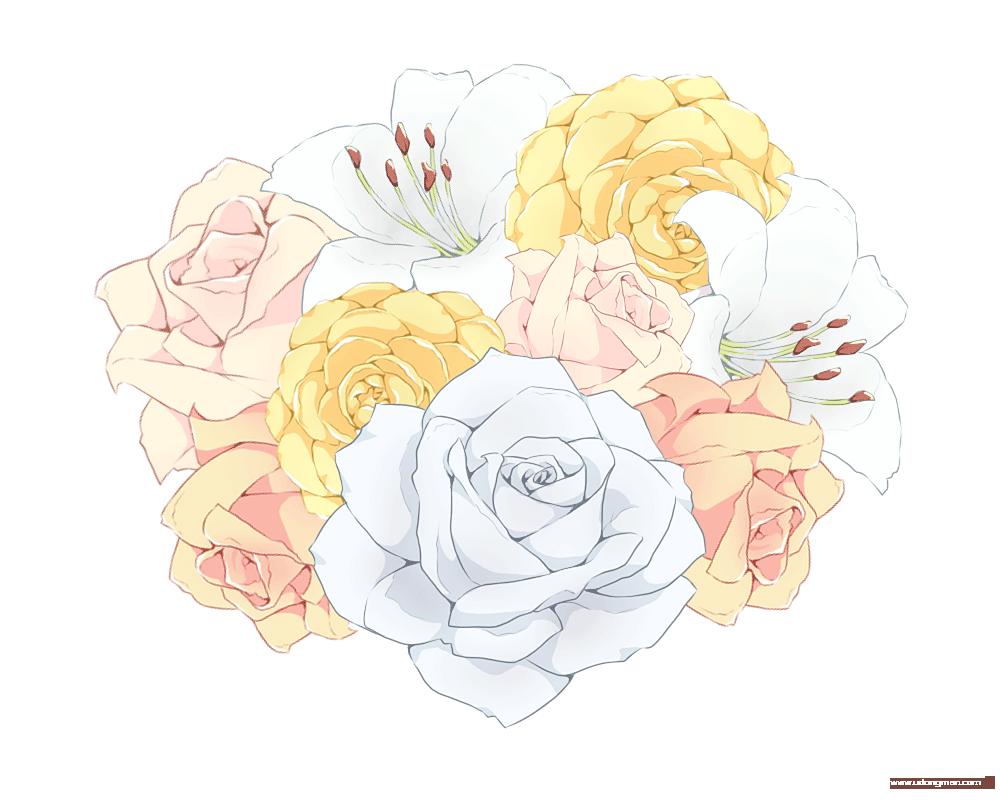 小清新花朵素材