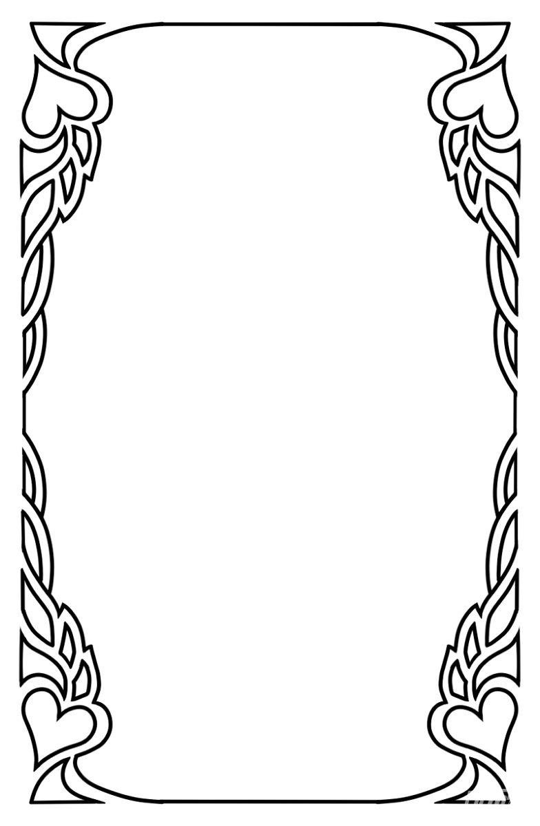 塔罗牌边框素材
