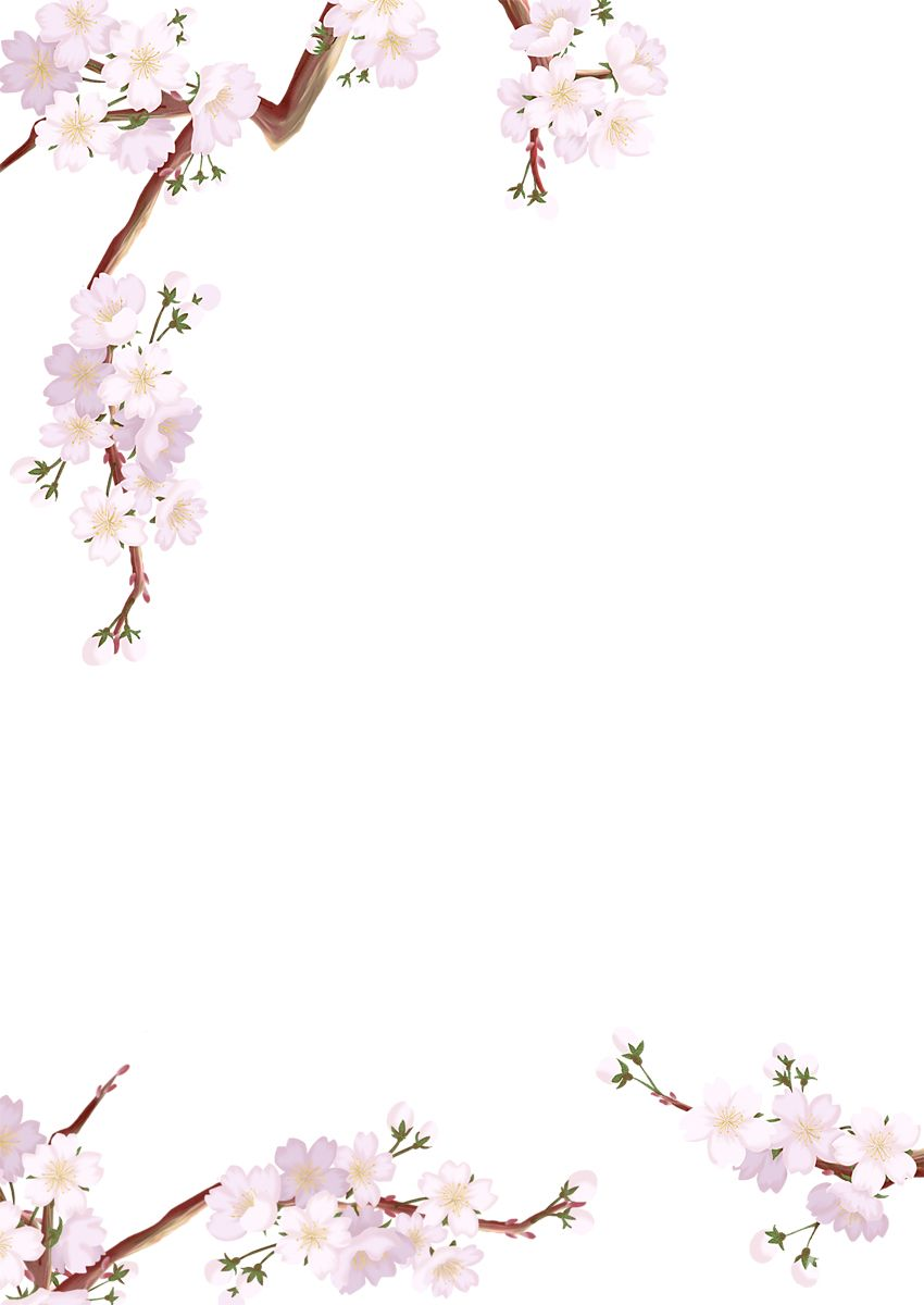 樱花背景素材