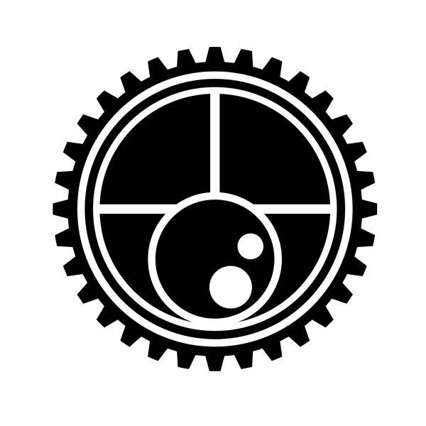 机械齿轮素材矢量图