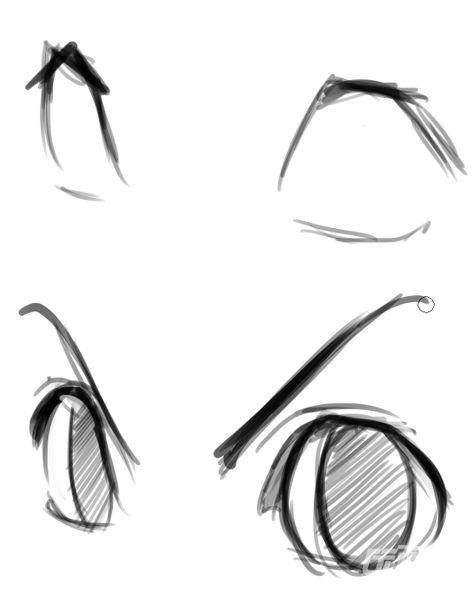 素描流泪眼睛的画法