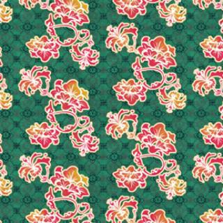 皱纹纸大红花的步骤展示